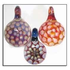 Chuvora hand blown venetian murano glass pendant necklace sea honeycomb glass pendants wholesale lampwork jewelry by glass peace 5500 mozeypictures Image collections