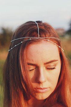 Archetto di catena catena di testa capelli di BeedJewellery