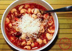 pasta e fagioli (italian bean and pasta) soup
