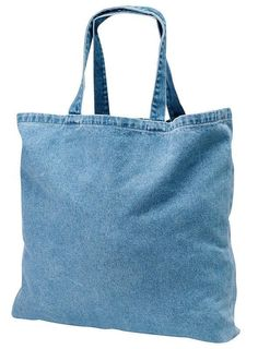 98015a7bbfc3 This wholesale washed denim tote bag is made out of 10 ounce durable cotton  twill to