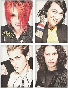 Gerard Way, Frank Iero, Mikey Way, Ray Toro - My Chemical Romance