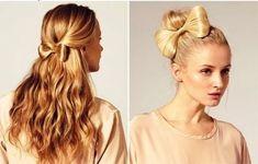 peinados con lazos de cabello