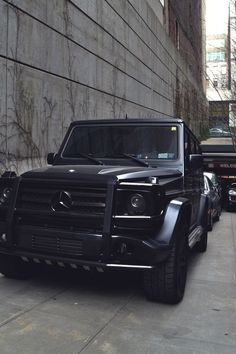 Mercedes Benz G55 AMG. If I could have any car in the world...