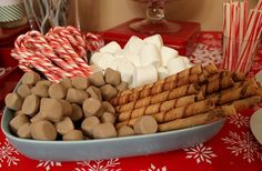 Holiday Hot Chocolate Bar fromhttp://thisnestisbest.com, via http://www.apartmenttherapy.com/holiday-hot-chocolate-and-coffee-bar-this-nest-is-best-180929