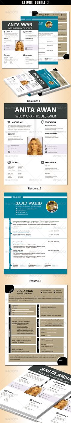 Resume (Print Ready Clean PSD \ MS Word Files) http - print resume