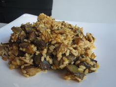 Paella de arroz con alcachofas en Primus Valencia - Menú Relax con Sabor.