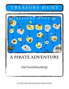 This Pirate Themed Board Game is very versatile and easy to play! All it takes is a printer, scissors, and tape!Roll dice and move across the pirate islands to get to the pirate city. As you go, collect treasure. It's not always the fastest person that wins!