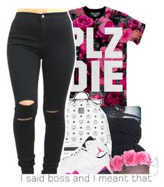 @fashionkilla-lex by dopest-queens on Polyvore featuring polyvore, fashion, style, Kill Star and MCM