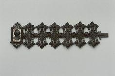 Berlin Iron Bracelet with Steel Cameo, German, c. 1825, Museum of Fine Arts, Boston.