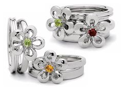 mothers ring with flowers - Google Search
