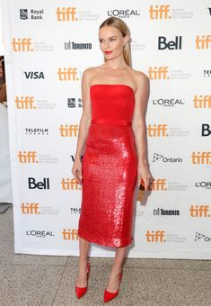 Kate Bosworth in Hugo Boss