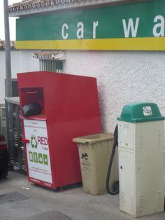 waste bins spain