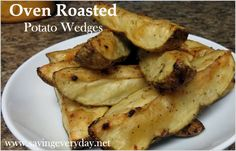 Easy Oven Roasted Potatoes - http://www.savingeveryday.net/2013/06/recipe-easy-oven-roasted-potatoes/