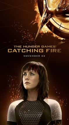 The Hunger Games: Catching  Fire - Johanna on popcorn buckets and soda cups