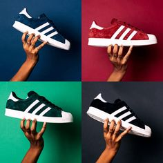 Continuing the year of the Superstar, adidas Originals presents the Superstar silhouette in another classic form for the Suede Classics Pack.