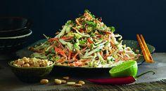 Тайский салат скальмарами