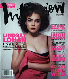 Lindsay Lohan as Elizabeth Taylor: Unearthed magazine cover shows Mean Girls actress paying homage to screen siren Elizabeth Taylor, Mean Girls Actress, Error, Coaching, Hot Band, Hollywood, Entertainment, Old Actress, Black Bra