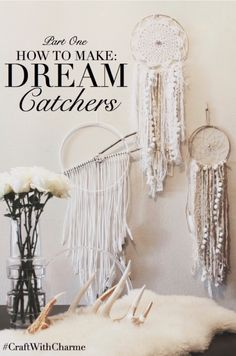 Boho Dreamcatchers -- If you love the delicate, boho style of a dreamcatcher, here are 10+ dreamcatcher tutorials for you to try to make your own!
