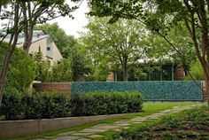 Home Design Exterior Among Tiled Also Wooden Fencing And Stone Steps Garden House with Natural Pebbles
