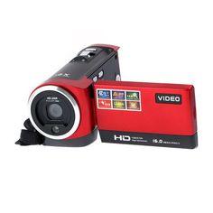 Digital Camera Video Camcorder 16MP 16x Zoom Sensor 270 Degree 2.7 inch TFT LCD Screen