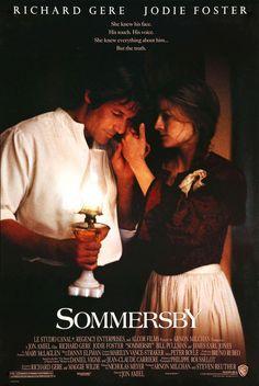 Sommersby (1993) Review Jodie Foster, Richard Gere, Peter Boyle, Bill Pullman, James Jones, Netflix, Danny Elfman, Earl Jones, Opening Weekend
