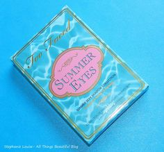 Too Faced Summer Eyes Palette Swatches & Review http://stephanielouiseatb.blogspot.com/2013/05/too-faced-summer-eyes-palette-swatches.html #toofaced #makeup #summer #eyeshadow #bbloggers