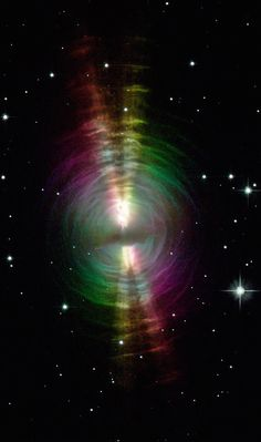 The Egg Nebula - CRL 2688 Around 3000 light-years from Earth in the constellation Cygnus is a planetary nebula known as the Egg Nebula. The nebula is the result of a dramatic phase in the life of a...
