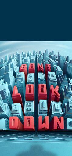 Dont.Look.Down Illustration | Abduzeedo Design Inspiration
