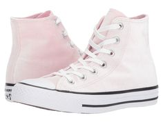 Converse Chuck Taylor All Star - Hi Velvet Women's Lace up casual Shoes Arctic Pink/White/White