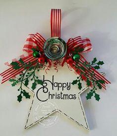 christmas star tag more christmas plaques christmas card crafts