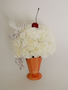 Ice Cream Floral Bouquet Business Profile, Novelty Items, Floral Bouquets, Gift Baskets, Floral Arrangements, Party Favors, Custom Design, Ice Cream, Gifts