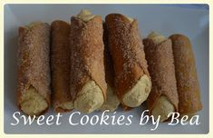 Cannolis (al horno) | Cocina Cannoli, Queso Fresco, Sweet Cookies, Relleno, Sausage, Bread, Food, Pret A Manger, Meal