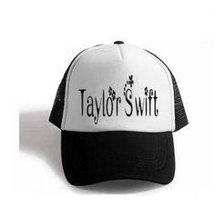 TaylorSwift trucker cap black mesh baseball cap for youth