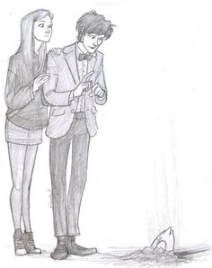 """Let's go poke it with a stick""  The Eleventh Doctor and Amy Pond"