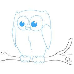 How to Draw an Owl | Fun Drawing Lessons for Kids & Adults