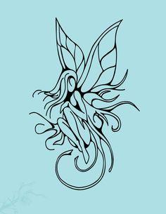 abstract fairy tattoo | Fairy Tattoo by~vision5 on deviantART