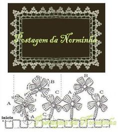 *** Barrado em Crochê -  /   Barred Crochet - 2