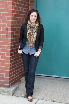 casual black blazer and jeans women - Google Search