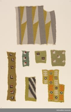 Mönster ritade av Emma Jacobsson, Göteborg, ca How To Purl Knit, Vintage Colors, Knitwear, Knit Crochet, Folk, Museum, Kids Rugs, Colours, Knitting