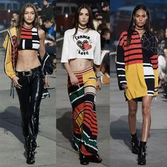 TommyXGigi collection designed in collaboration with supermodel Gigi Hadid, who also headlined the event.