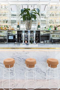 Los Peñotes: Madrid's New Greenhouse Turned Restaurant Is a Gardener's Dream Photos | Architectural Digest