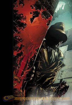 "Reis and Prado Cover ""Before Watchmen: Rorschach"" #4"