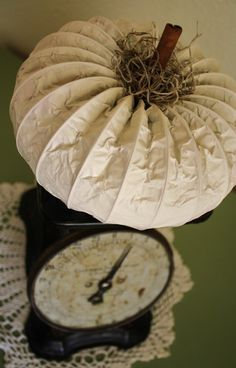 Dryer vent pumpkins with a Great Tutorial.....She makes the nicest ones out there....Enjoy
