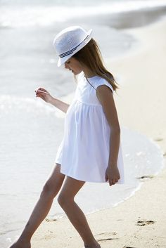 All white, so chic. #designer #kids #fashion
