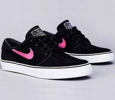 Nike SB Stefan Janoski Low – Black / Pink Foil – White