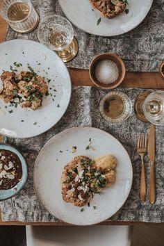 Polenta, Roasted Cauliflower, Dinner, New Recipes, Weihnachten, Cooking, Suppers