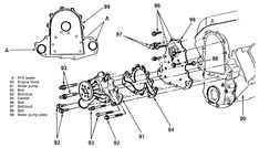 97 chevy suburban engine diagram 23 best old gm detroit diesels 6 2   6 5 images detroit diesel  23 best old gm detroit diesels 6 2   6