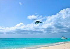 Helicopter Tours in Turks And Caicos Are you a thrill seeker? Are you drooling to see amazing views? Just do something new and different on your vacation? Grace Bay Beach, Helicopter Tour, Turks And Caicos, Island Life, Serenity, Caribbean, Things To Do, Tours, Vacation