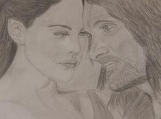 Arwen and Aragorn by 8manu on DeviantArt