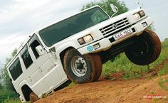 Launched in Japan in 1995, the Toyota Mega Cruiser was their response to the Hummer.